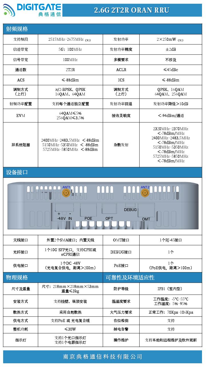 2.6G 2T2R ORAN RRU 产品规格书_2021.05.26.png